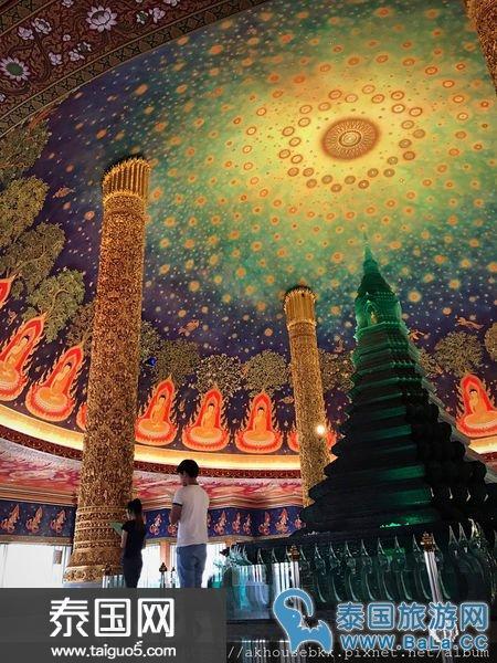 华人游客鲜知的曼谷三级皇家寺庙-Wat Paknam