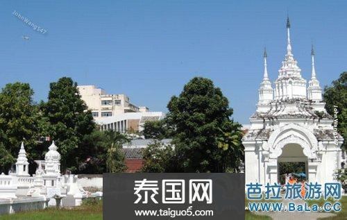 清迈松达寺Wat Suan Dok 历史的皇家花园寺庙
