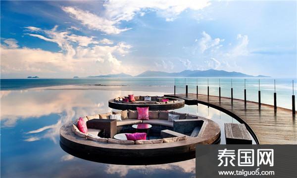 泰国苏梅岛蜜月的天堂